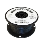 Hookup Wire - 22AWG, Stranded, Black, 1000ft