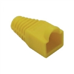 RJ45 Boot - Yellow, Pkg/10