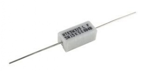 Resistor, 1.0 ohm, 550 V, Through  Hole, Wirewound, Axial Leaded, 10 W, 5% Tolerance, Pkg/2