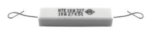 Resistor, 15 ohm, 550 V, Through  Hole, Wirewound, Axial Leaded, 10 W, 5% Tolerance, Pkg/2