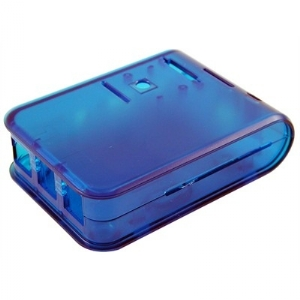 Raspberry Pi 3 B Enclosure - Translucent Blue