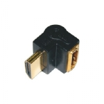 HDMI M-F, Right Angle Adapter