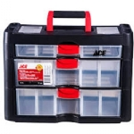 Storage Cabinet - 3 Drawers, Plastic 16 x 11 x 8 in