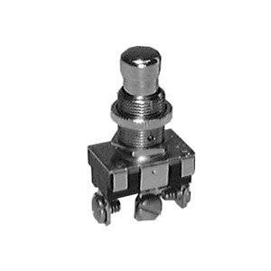 Heavy Duty Utility AC Momentary Push Button Switch - SPST