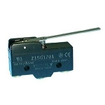 Snap Action Switch Heavy Duty, SPDT 15A@125/250V, w/Long Lever