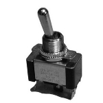 Heavy Duty Bat Handle Toggle Switch, SPDT 20A@125V, ON-OFF-ON