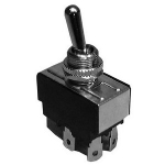 Heavy Duty Bat Handle Toggle Switch, DPDT 20A@125V, (ON)-OFF-(ON)