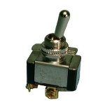 Heavy Duty Bat Handle Toggle Switch, SPST 20A@125V, (ON)-OFF
