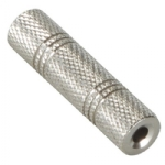 3.5mm Stereo To 3.5mm Stereo Coupler Metal