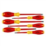 6 Pc Insulated Screwdriver Set