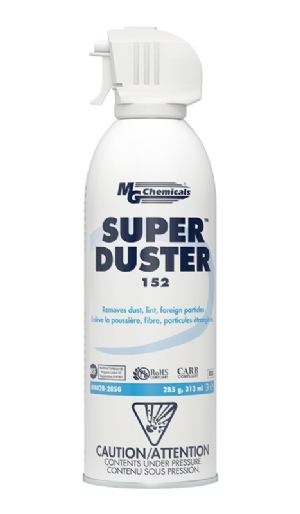 Super Duster 152 - Compressed Air, 285g Aerosol