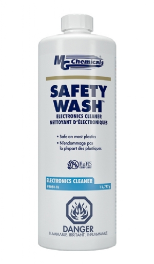 Safety Wash Electronics Cleaner, 1L