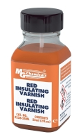 Red GLPT Insulating Varnish, 55 ml