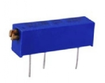"Trimmer Potentiometer, 1K Ohm, 3/4"" Rectangular, 3/4 Watt"