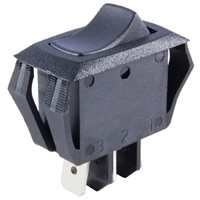 Rocker Switch - SPDT 16A, ON-ON, Mini Snap-in
