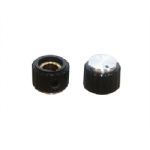 Knob, no Flange, 15mm Pkg/2