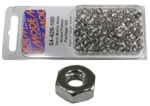 Metric Nuts - 2mm, Pkg/100