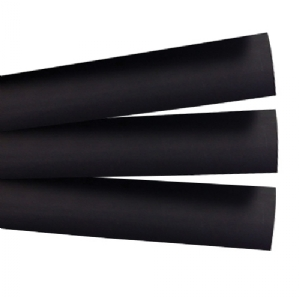 "3/8"" Black Heat Shrink - 4"" Length, Pkg/3"