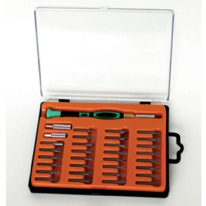 Screwdriver Set - 33 pieces with interchangeable bits