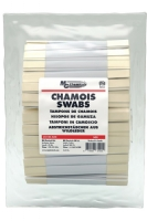 Chamois Swabs - Double Headed, Pkg/500