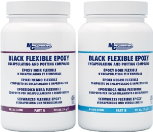 Epoxy Encapsulating and Potting Compound, Flexible, Black