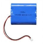 Lithium Ion Rechargeable Battery Pack - 3.7V, 6600mAh