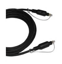 Fibre Optic Audio Cable, 3ft, Toslink to Toslink Digital Audio