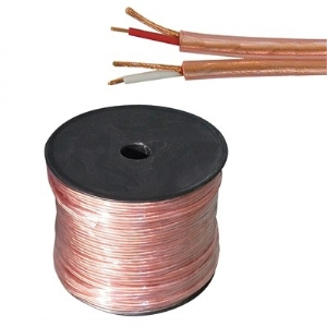 2 X 1 Conductor 20 AWG, Wrap Shield, Twin/Stereo, 300ft Roll