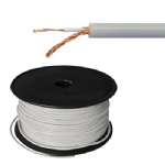 1 Conductor 20 AWG, Wrap Shield, Grey, 300ft Roll
