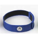 Anti Static Wrist Strap, Blue, with 4 mm Stud, adjustable thermo plastic