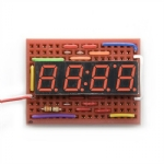 7-Segment LED Display, 4-digit, Red