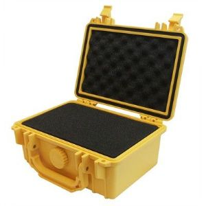 "Protective Case 1100 with foam, 8.3 x 6.6 x 3.5"", Yellow"