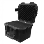 "Protective Case 1360 with foam, 11.8 x 9.8 x 8.4"", Black"