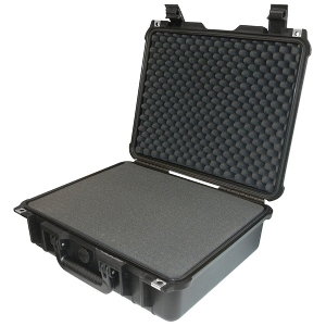 "Protective Case 1400 with foam, 16.5 x 12.9 x 6.8"", Black"