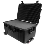 "Protective Case 2700 with foam, 24.6 x 16.5 x 13.4"", Black, With Wheels"