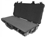 "Protective Case 4200 with foam, 38.4 x 16.9 x 6.6"", Black, With Wheels"