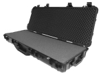 "Protective Case 4300 with foam, 44.6 x 16.6 x 6.1"", Black, With Wheels"
