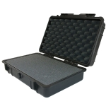 "Protective Case 850 with foam, 9.7 x 6.9 x 3.1"", Black"