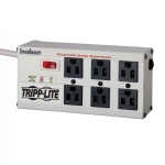 ISOBAR 6 Outlet Surge Suppressor Power Bar, 6ft cord