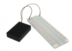 Solderless Breadboard & 3 AA Battery Box Kit