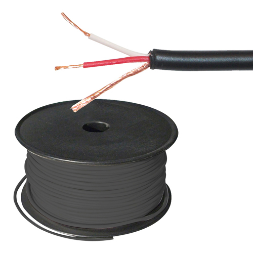 2 Conductor Shielded - 3.5mm OD, 300ft Roll