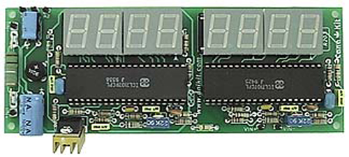 Digital Voltmeter Kit : Active tech