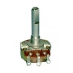 Miniature Potentiometer 500K Audio 16mm