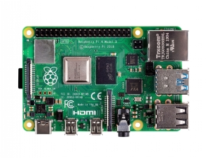 Raspberry Pi4 Model B, 2GB DDR4 RAM, PoE Enabled