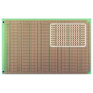 Powerboard with power rails, Size 3 (100x160mm)