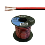 Low Voltage DC Power Cable, 22AWG, 25ft