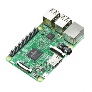 Raspberry Pi3 Model B, 1.2GHz 64-Bit Quad-Core, 1GB RAM, 802.11n WIFI, BLE 4.0