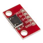 USB 'micro-B' Female Breakout Board