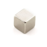 Rare Earth Magnet, Square - 0.25""