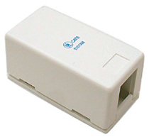 RJ45 Box - surface Mount Single